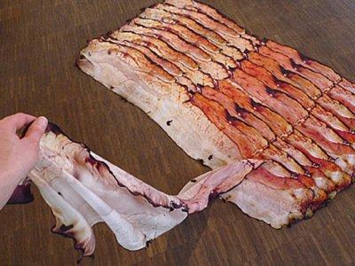 Fou Lard, A Silk Scarf That Looks Like Bacon