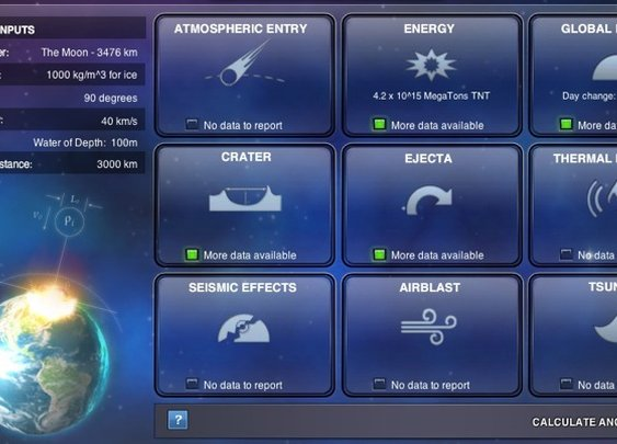 Asteroid impact simulator - Boing Boing