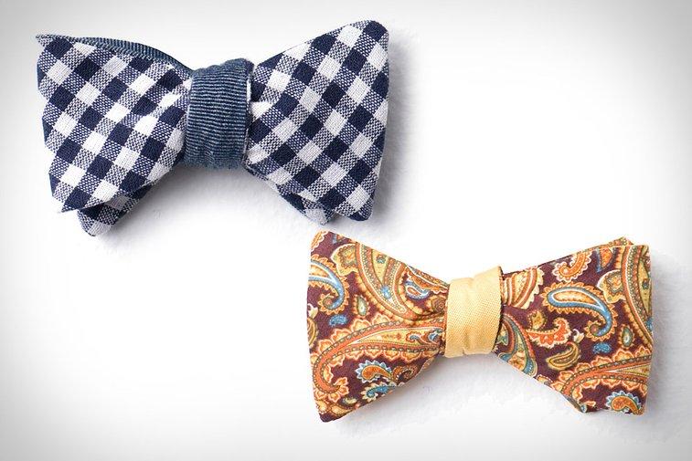 Cotton Treats Reversible Bow Ties | Uncrate
