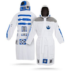 ThinkGeek :: Star Wars R2D2 Bathrobe