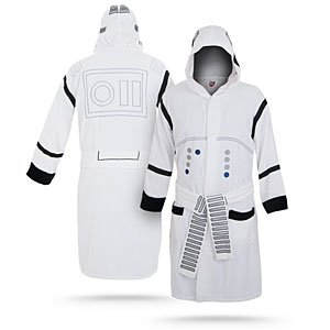 ThinkGeek :: Star Wars Stormtrooper Bathrobe