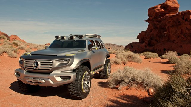The Mercedes Ener-G-Force Is The Awkwardly Named Future Of Off-Roading