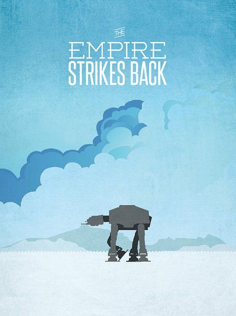 Minimal Star Wars Iconic is the only word to... | The Khooll