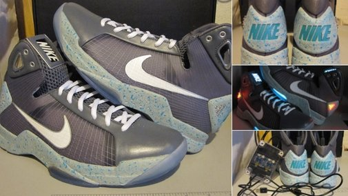 If the Back to the Future Shoes Were Made Today, They Would Look Like This