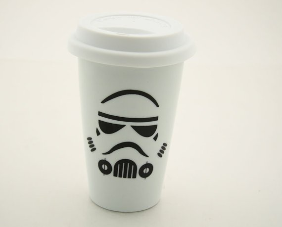 Star Wars Storm Trooper Travel Mug