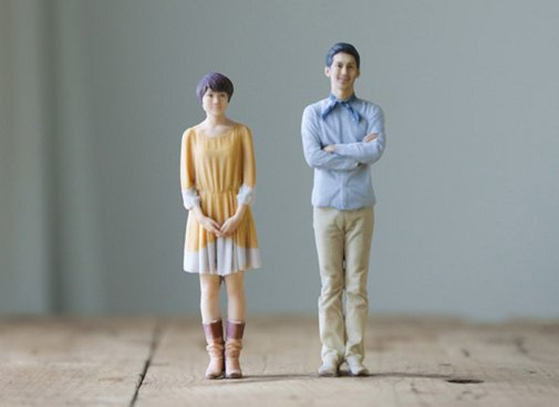 A Photobooth That Creates 3-D Printed Figurines | Geekologie