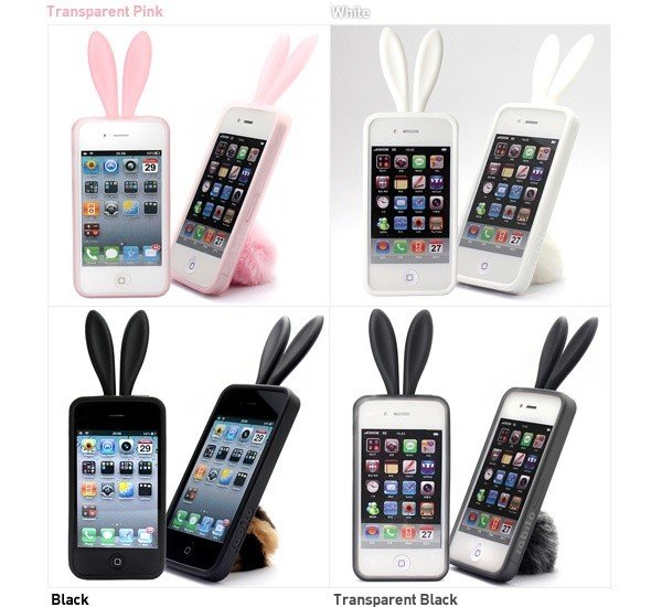 """Krolefon: the new image of iPhone 4 with original case """"Ear Rabito"""""""