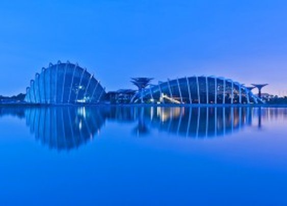 The Coolest building in the world - the Winter Gardens in Singapore
