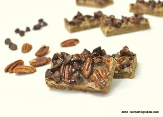 Salted Caramel Chocolate Pecan Bars.