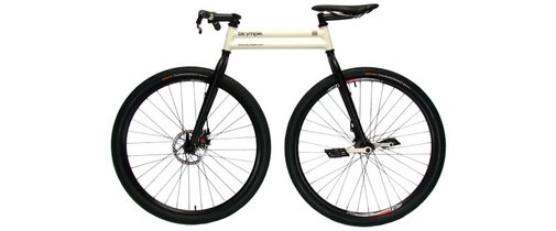The bicymple. The bicycle, simplified. Designed by Josh Bechtel