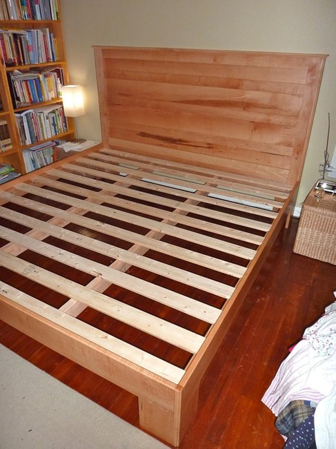 My Hand Made Maple Bed