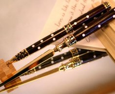 Handcrafted wood pen and letter opener set by Hope & Grace Pens