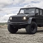 Glacier Ready: Stretched 2002 Mercedes G500 Pick-up