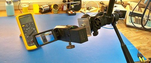 Making an overhead camera gantry, take 2