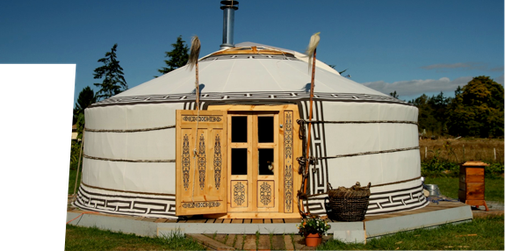 Traditional Mongolian Yurts