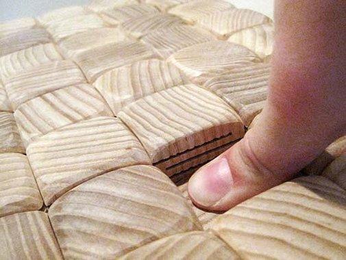 Ash Cushion by Mary Dickerson | Wood as soft as a cushion!