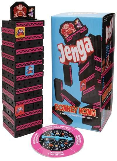 Donkey Kong Jenga