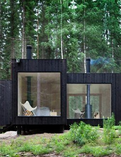 A house in the woods | scrapbook