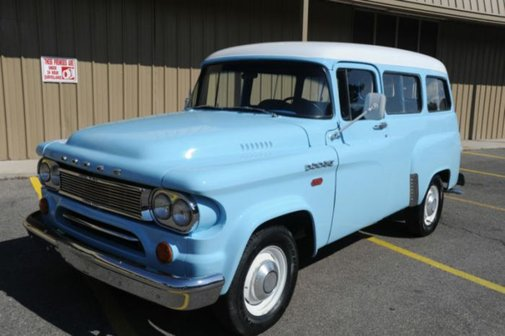 1963 Dodge D100 Town Wagon | Hemmings Blog