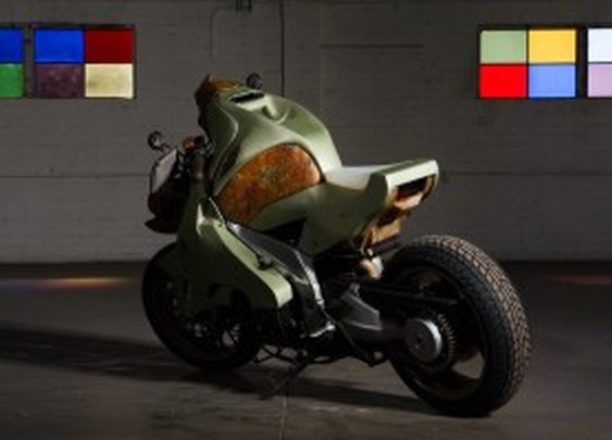 A Motorcycle Inspired By Pompeii and Decay | Autopia | Wired.com