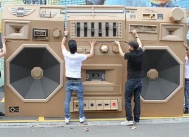 Mini Ghettoblaster
