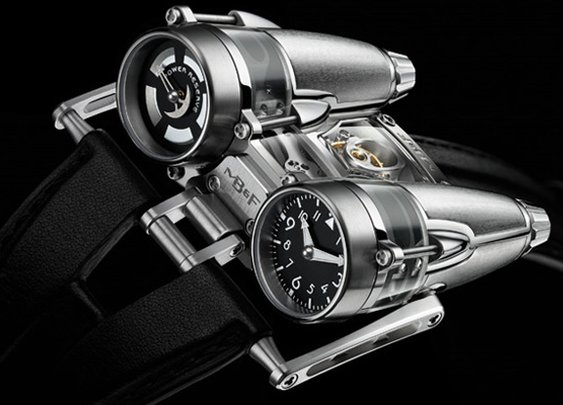 MB&F;  Horological Machine No4 Thunderbolt (NOTCOT)