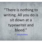 Write and Bleed.
