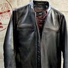 Black Rivet Cycle Jacket by Wilsons Leather | Primer