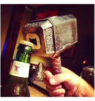 Thor's Hammer Bottle Opener