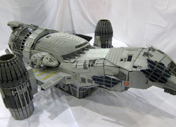 Serenity insanity - Giant Lego Serenity spaceship astounds (pictures) - CNET