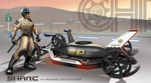 LA Design Challenge 2012 puts out APB for patrol vehicles of 2025