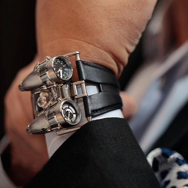 MB&F; HM4 Thunderbolt Watch - PunchPin