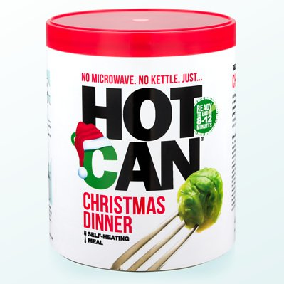Christmas Dinner in a Can