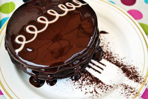 """Hostess Cupcake"" Pancakes"