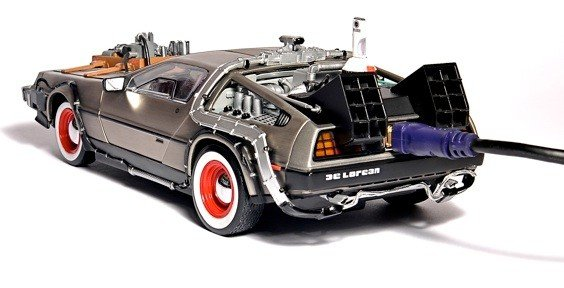 Flash Rods' DeLorean Hard Drive