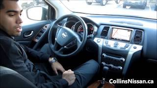 2013 Nissan Murano LE & SV | Quick Tour | COLLINS NISSAN - YouTube