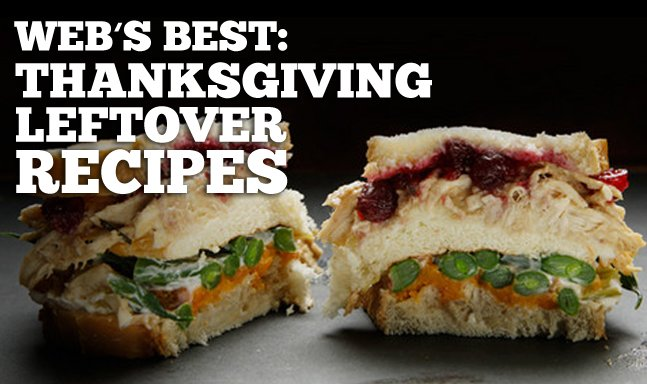 Web's Best: Thanksgiving Leftover Recipes