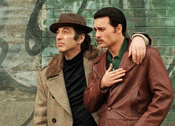 Al Pacino & Johnny Depp