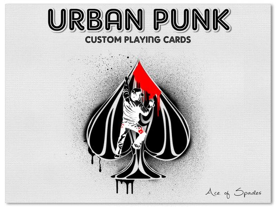 Urban Punk Bicycle Playing Cards by UnCommon Beat — Kickstarter