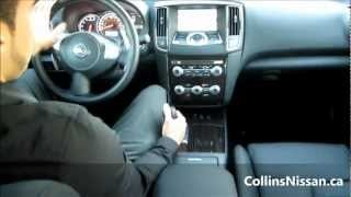 2013 Nissan Maxima SV | Quick Tour | COLLINS NISSAN - YouTube