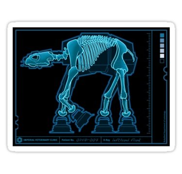 Star Wars Walker X-Ray