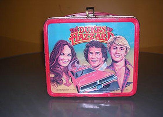 DUKES OF HAZZARD 1980 VINTAGE LUNCH BOX BY ALADDIN!!!!!!!!1 | eBay