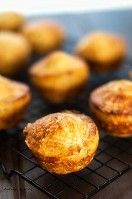 Quick Quinoa Corn Muffins