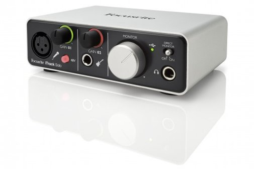 Focusrite launches iTrack Solo recording interface for iPad