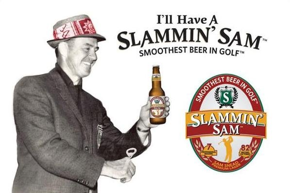 Slammin' Sam Beer Honors Sam Snead