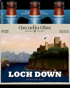 Review : Arcadia Loch Down Scotch Ale