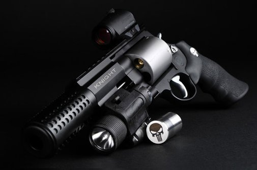 Punisher Warzone Modified S&W .357