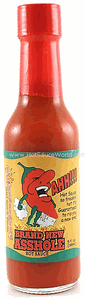 Brand New Asshole Hot Sauce, 5oz.