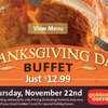 Thanksgiving @ Golden Corral