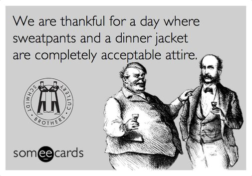 Otherwise, it's 24/7 tuxedos.